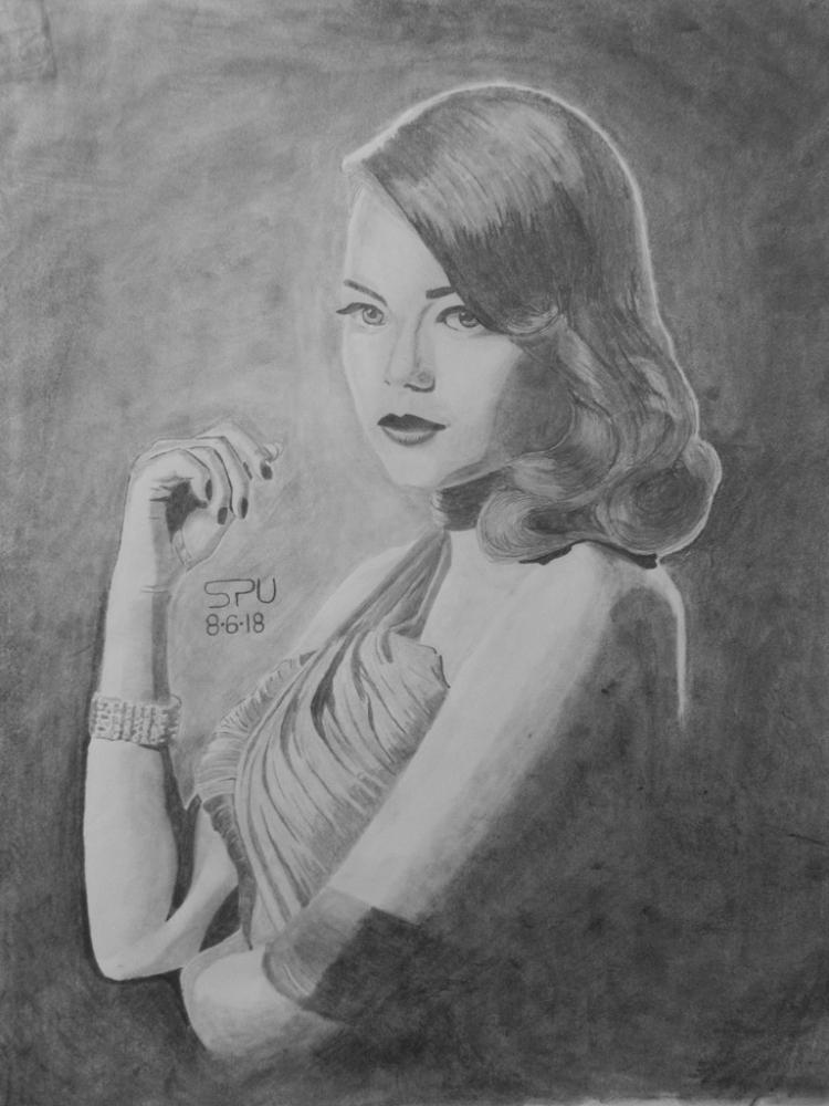 Emma Stone por SUAZ64